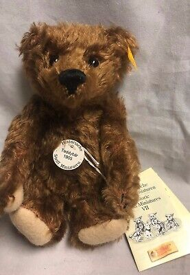 Steiff Pin 100th Anniversary Pin Teddy Bear Pin