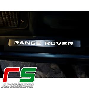 Range Rover Evoque soglia battitacco illuminato sottoporta tuning acciaio inox