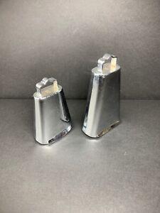 Adaptable 2x Montage Cloche Set Tambour Accessoire Made In Japan 3.75 X 3.25/5.25 X 3.75-afficher Le Titre D'origine