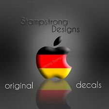 ( 2x ) Apple Logo Skin Sticker Decal Vinyl Film for iPad Gen 1 2 MINI COLOR