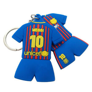 san francisco 8cbe8 4c0ba Details about Barcelona 10 Lionel messi football shirt key chain