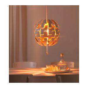 new ikea ps 2014 pendant lamp like the death star white copper color ebay. Black Bedroom Furniture Sets. Home Design Ideas