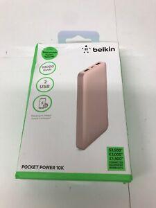 Belkin-Pocket-Power-10K-Power-Bank-Rose-Gold-Pink-for-Smartphones-Tablets-etc