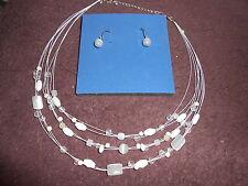 Avon Multistrand Cat's Eye Necklace Gift Set ***NEW***