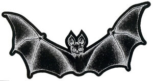 Bat-Skeleton-Cutout-2-sided-Patch-Goth-Vampire-Skull-Gothic-Dracula-Witchcraft