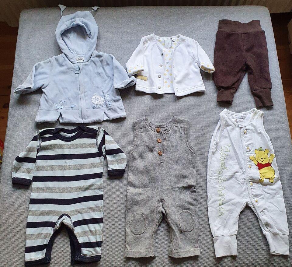 Blandet tøj, Tøjpakke str 50, Joha