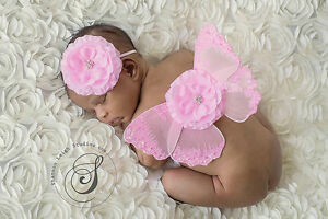 Newborn Baby Girls Boys butterfly Costume Photo Photography Prop Outfits