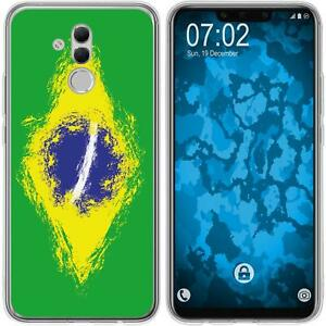 Huawei-Mate-20-Lite-Coque-en-Silicone-WM-Bresil-M3-Case-films-de-protection