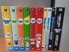 Family Guy LOT Volumes 1-8, Blue Harvest, Something Darkside, Stewie Griffin