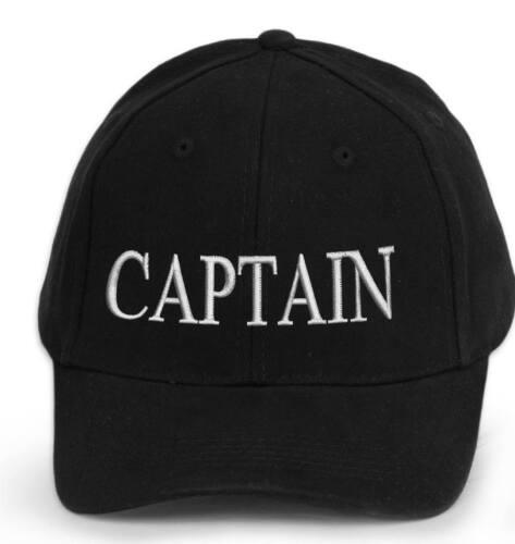 Captain Baseball Kappe Bestickte Baumwolle Männer Frauen Verschiedene Logos