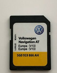2019-2020-VW-MEDIA-AT-V13-DISCOVERY-MIB1-Card-Sat-Nav-SD-Navigation-Europe-map
