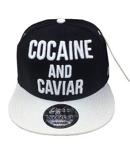 Caricamento dell immagine in corso La-cocaina-amp-CAVIAR-Snapback-Cappellino -Baseball-Hip- 35c15fd2b3d7