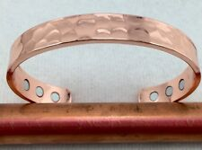 Men Women's Copper Magnetic Bracelet Arthritis Healing Energy Adjustable