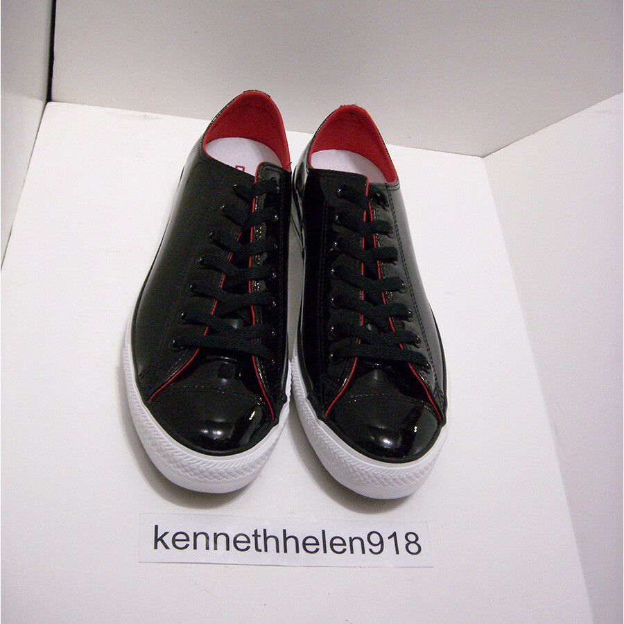 CONVERSE CHUCK TAYLOR PATENT OX LEATHER SNEAKER 111133 MENS SIZE 10