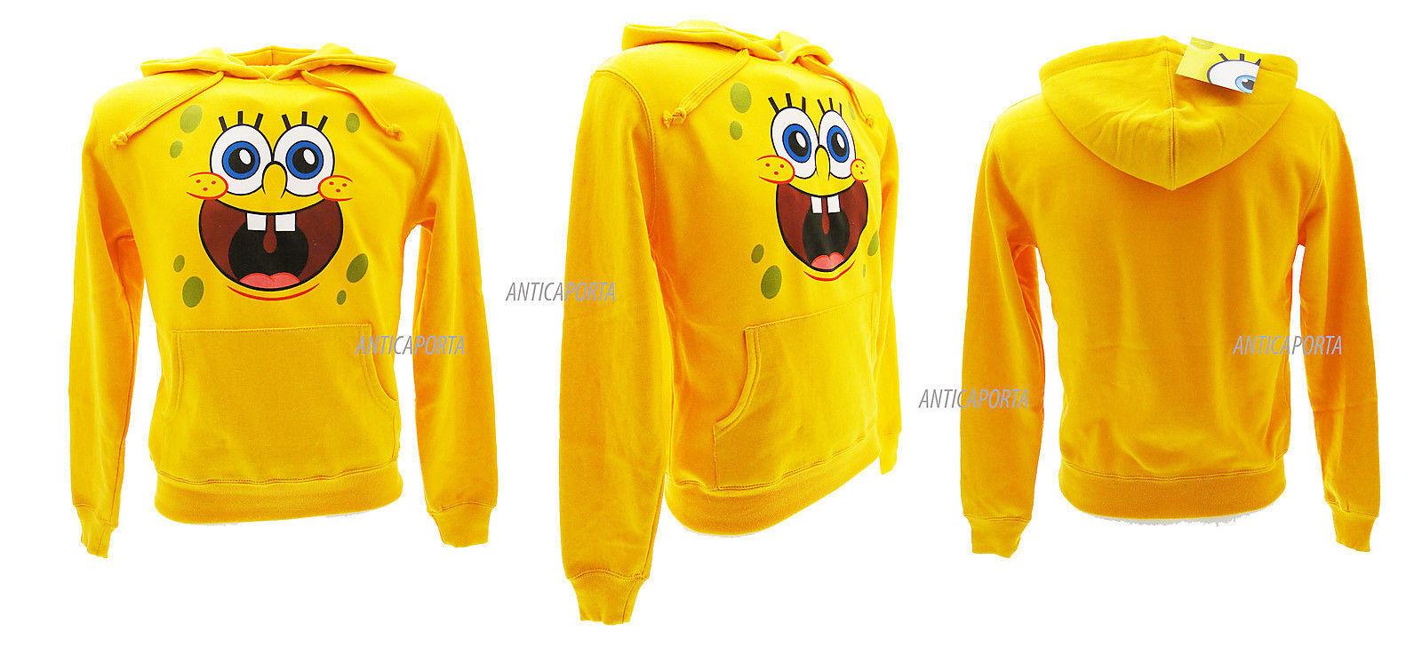 Sweatshirt Spongebob Original Sweat Sweatshirt Baby Boy and adult Details Super