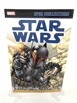 1 Marvel Epic Collection Graphic Novel Comic Book Star Wars Menace Revealed Vol