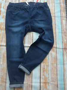 Sheego-Jeans-Trousers-Stretch-Jeggings-Size-42-to-52-Blue-709-049-314