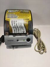 Brother Ql 500 Label Thermal Printer Label Reel Usedvery Goodworks