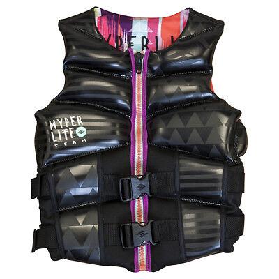 NEW $150 Womens HO Couture Team CGA Vest Water Ski Life Jacket Ladies Black
