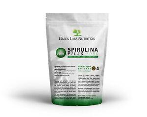 SPIRULINA-TABLETTEN-BIO-100-naturrein-keine-Zusatzstoffe