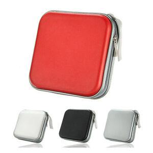 40-CD-DVD-Album-Storage-Carry-Case-Cover-Wallet-Sleeve-Holder-Bag-Hard-Box-BOT