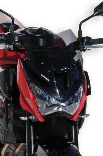 Bulle Saute Vent  Ermax 30 cm Kawasaki Z 800//800 E 2013//2016 Noir Clair 03030308