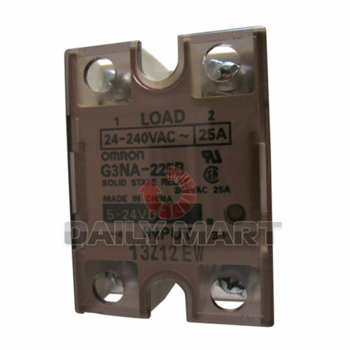 New OMRON G3NA-225B 5-24V solid state relay G3NA-240B