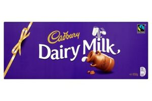 Cadbury Dairy Milk Chocolate Bar 850g Largest Bar Valentines Gift