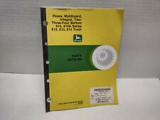 John Deere 810 810a 812 813 814 Plows Parts Catalog Book