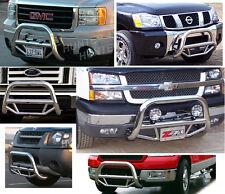 02 05 Dodge Ram 1500 2500 3500 Bull Bar Guard Grill Chrome Stainless Steel Fits 2005 Dodge Ram 1500