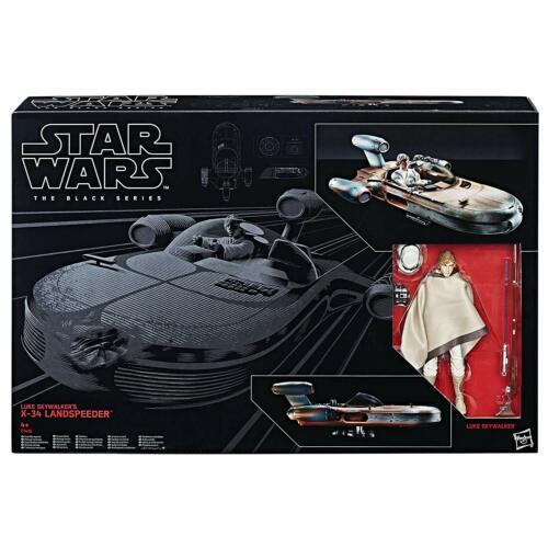 Star Wars The Black série Luke Skywalker Land Speeder Figure C1426EU4
