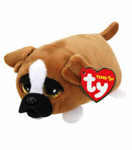 """TY Beanie Boos Teeny Tys 4"""" DIGGS the Dog Stackable Plush Stuffed Animal MWMTs"""