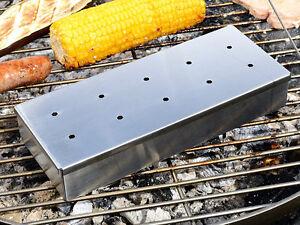 Fisch Gasgrill : Räucherbox gasgrill holzkohlegrill chips späne räuchern rauch box
