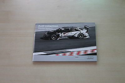 In Audi Neue Mode 171762 Design; Collection Motorsport Prospekt 04/2010 Novel