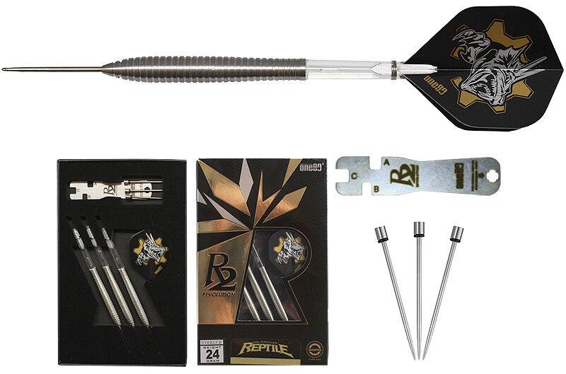 Darts one80 R2 Reptile Steeldarts - Dart Set