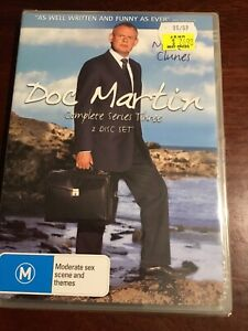 DOC-MARTIN-Complete-Series-Three-Martin-Clunes-New-Sealed-2-DVDs-R4-PAL