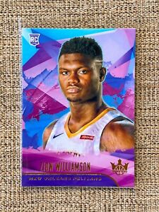 2019-20-ZION-WILLIAMSON-Panini-Court-Kings-Rookie-RC-72