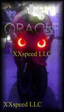 ORACLE Kawasaki ZX10R 06-09 RED LED Headlight Halo Angel Demon Eyes Rings