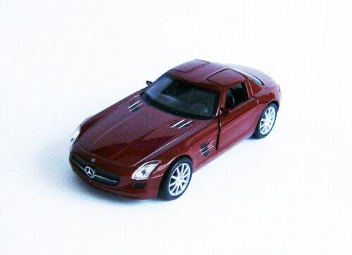 MERCEDES-BENZ SLS AMG Metall 4 Farben Modellauto Modell Auto Spielzeugauto 60