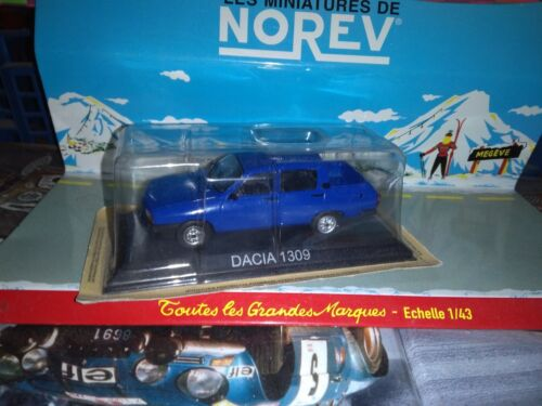 DACIA 1309 DOUBLE CABINE 1//43 NEUF SOUS BLISTER