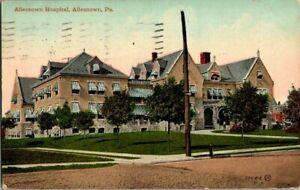 1913-ALLENTOWN-PA-ALLENTOWN-HOSPITAL-POSTCARD-EE9