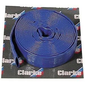 Clarke-5m-x-1-034-Diametro-plana-envio-Manguera-7955112