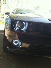 Chevrolet Camaro RS White LED HALO HEADLIGHT and FOG LIGHT KIT (2010-2013)
