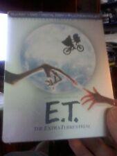E.T. The Extra-Terrestrial (BLU-RAY/DVD/Digital Steelbook Anniv Limited Ed)New