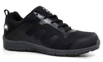 Zapatillas para Mujer Nuevo De Seguridad Ligero Puntera De Acero Caps Trabajo Entrenadores Botas Talla