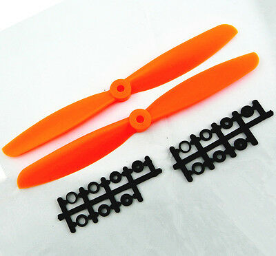 1pair 9045 9045R Prop CW/CCW Propeller for DJI XA quadcopter FPV 90x4.5 orange F