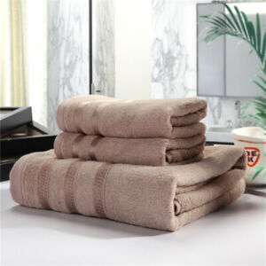 Bamboo-Fiber-Towel-Absorbent-Towel-Set-Ouedoor-Towel-Home-Textiles-3-pcs-6A