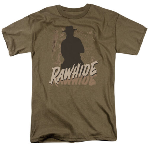 RAWHIDE TV Show Logo Licensed Adult T-Shirt All Sizes