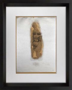 Marino-MARINI-Lithograph-SIGNED-Ltd-EDITION-034-Christ-II-039-42-Custom-FRAME-20x24