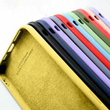 Liquid Silicona Suave TPU cubierta para iPhone 12 Mini 11 Pro Max XS SE XR 8 7 6